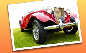 Classic and antique Packards, Model A Fords, muscle cars